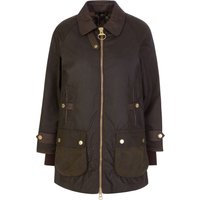 Barbour Green Norwood Waxed Cotton Jacket - Size 14