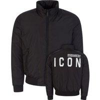 Dsquared2 Black ICON Logo Jacket - Size XL