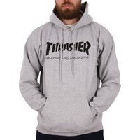 Thrasher Skate Mag Logo Hoodie - Grey Heather