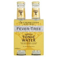 Fever-Tree premium indian tonic water, 4 pack