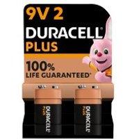 Duracell Plus Power 9V Batteries Alkaline