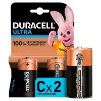 Duracell Ultra Power C Batteries Alkaline