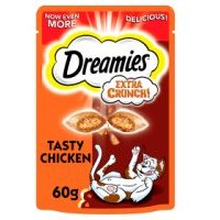 Dreamies Extra Crunch with Tasty Chicken