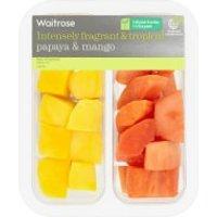 Waitrose papaya, mango & lime