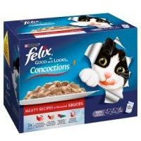 Felix As Good As It Looks Cat Food Concoctions Meaty