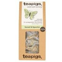 Teapigs Fennel & Liquorice 15 Tea Temples