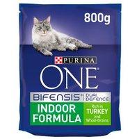 Purina ONE Indoor Dry Cat Food Turkey and Wholegrain