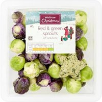 Waitrose Red & Green Sprouts with Butter