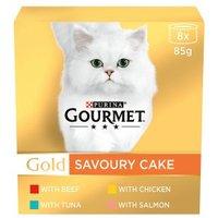 Gourmet Gold Savoury Cake Meat & Fish