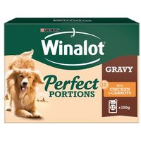 Winalot Perfect Portions Dog Food Chicken in Gravy