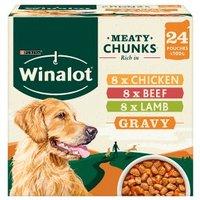 Winalot Perect Portions Dog Food Mixed in Gravy