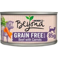 Beyond Grain Free Cat Food Beef with Carrots