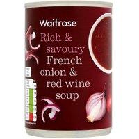 Waitrose French onion & red wine soup at Waitrose & Partners