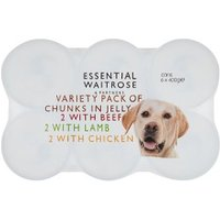 essential Waitrose Meat Selection Chunks in Jelly