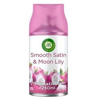 AirWick Air Freshener Freshmatic Max Refill Automatic Spray Smooth Satin and Moon Lily
