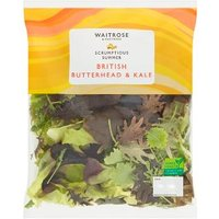 Waitrose British Butterhead & Kale