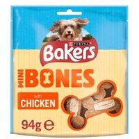 Bakers Mini Bones Chicken Dog Treats