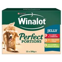 Winalot Perect Portions Dog Food Mixed in Jelly