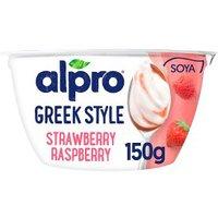 Alpro Greek Style Strawberry Raspberry