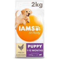 Iams for Vitality with Chicken Puppy