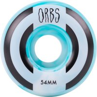 Welcome Orbs Apparitions Skateboard Wheels - Blue/White 54mm