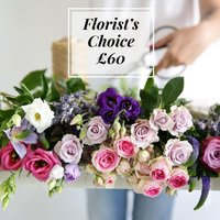 Florist's Choice £60 - flowers - Flower Bouquet Gifts