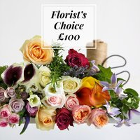 Florist's Choice £100 - flowers - Flower Bouquet Gifts