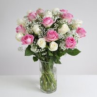 Pastel Fairtrade Roses - flowers - Flowers Gifts