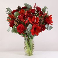 Luxury Red Christmas - flowers - Arena Flowers Gifts