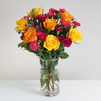Fairtrade Rainbow Bouquet  - flowers - Arena Flowers Gifts