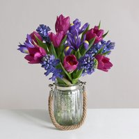 Indigo Bouquet | Vase Included - flowers - Flower Bouquet Gifts