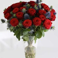 The Red Flag Flying - flowers - Flower Bouquet Gifts