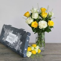 Letterbox Roses - flowers - Flower Bouquet Gifts