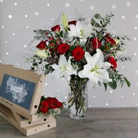 The Ultimate Christmas Letterbox Bouquet - flowers - Arena Flowers Gifts