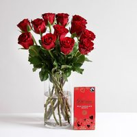 Classic Valentine's Gift Set - flowers - Arena Flowers Gifts