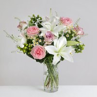 Elegant Rose and Lily - flowers - Arena Flowers Gifts