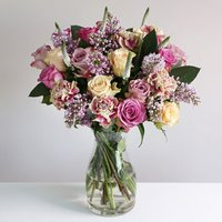 Luxury Rose & Lilac Bouquet - flowers - Lilac Gifts