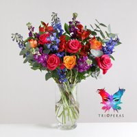 Tri Opera bouquet - flowers - Opera Gifts