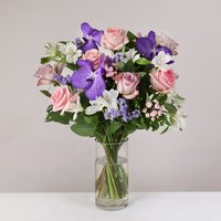 Lilac with Vanda - flowers - Lilac Gifts