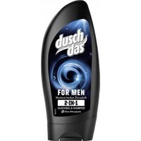 Duschdas 2in1 For Men Duschgel & Shampoo mit markant herbem Duft