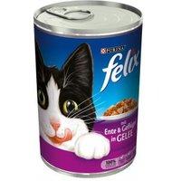 Felix mit Ente & Geflügel in Gelee