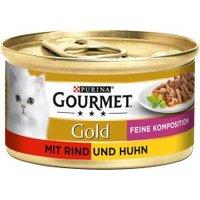 Gourmet Gold mit Rind & Huhn