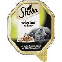 Sheba Selection in Sauce mit Kaninchenhäppchen