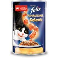 Felix Sensations mit Rind in Gelee mit Tomate