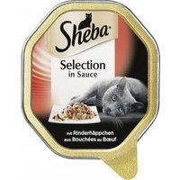 Sheba Selection in Sauce mit Rinderhäppchen