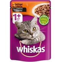 Whiskas 1+ mit Geflügel in Sauce