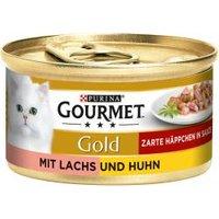 Gourmet Gold mit Lachs & Huhn