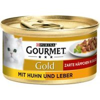 Gourmet Gold mit Huhn & Leber