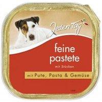 Jeden Tag Hund Feine Pastete mit Pute, Pasta & Gemüse