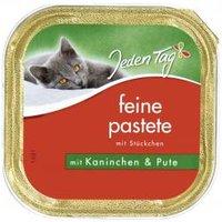 Jeden Tag Katze Feine Pastete mit Stückchen Kaninchen & Pute